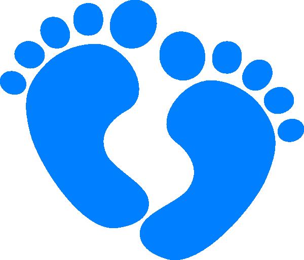 Baby feet clip art at clker com vector clip art online royalty free