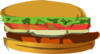 Bad Burger Clip Art