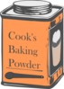 Baking Powder Tin Can Clip Art