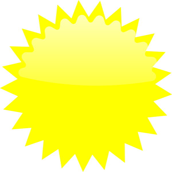 yellow starburst clipart - photo #9