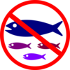 No Fishing Sign Clip Art