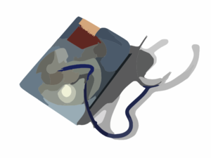 Hard Drive Repair X Clip Art