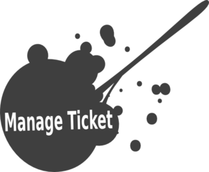 Manage Ticket1 Clip Art