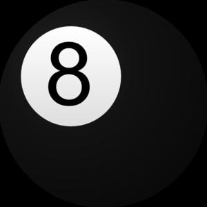 Clip Art 8 Ball