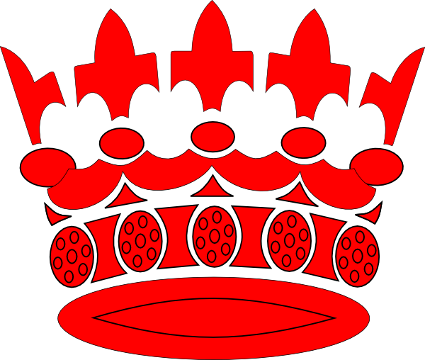 red crown clipart - photo #27