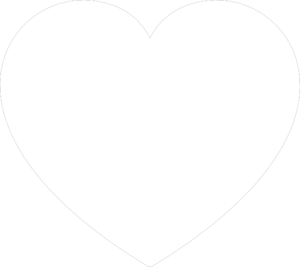 White Heart clip art - vector clip art online, royalty free ...