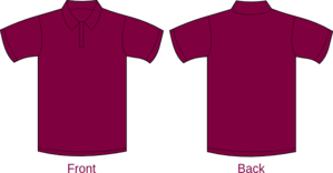 Polo Shirt Vino Clip Art