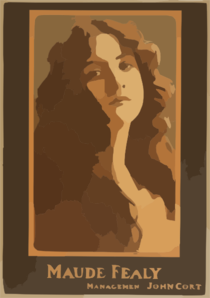 Maude Fealy  / From Copyright Photo By Burr Mcintosh, N.y. Clip Art
