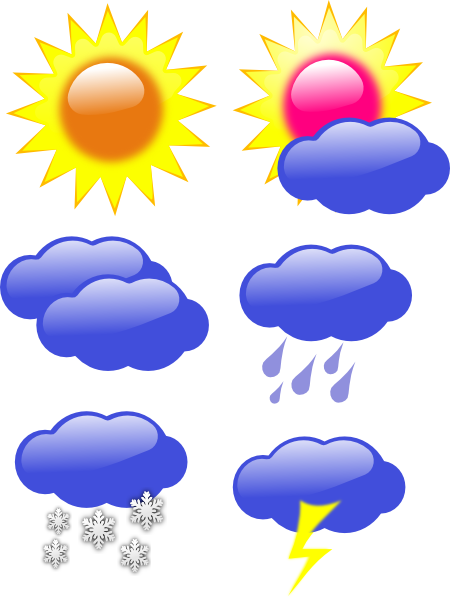 Weather Board Clip Art at Clker.com - vector clip art online, royalty ...