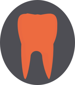 Orange Tooth Clip Art