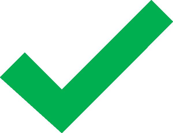 Dark Green Check Mark Clip Art at Clker.com - vector clip ...