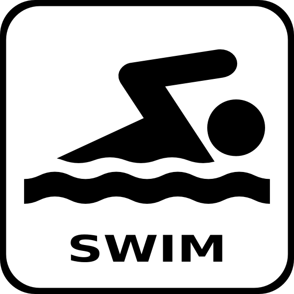 Swim Icon Clip Art At Clker Com Vector Clip Art Online
