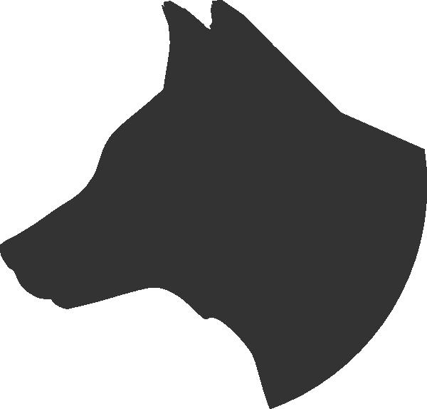 Dog Head Profile Clip Art at Clker.com - vector clip art online ...   600 x 574 png 13kB