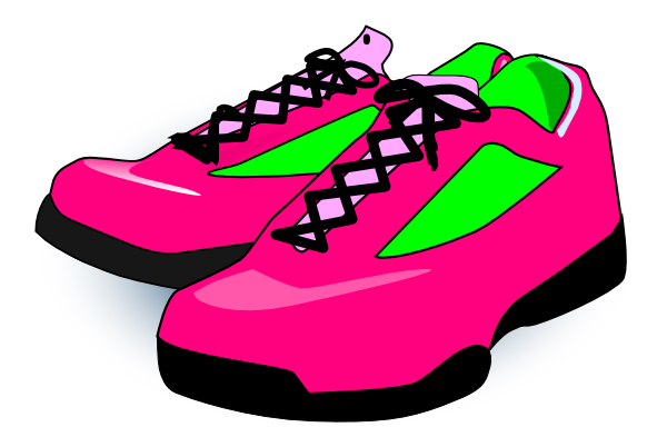 shoes with wings clip art. Karson Blaster Shoes clip art