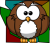 Owl Background Clip Art