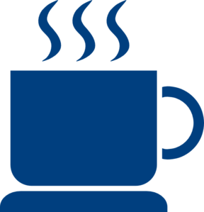 Coffee Blue Clip Art