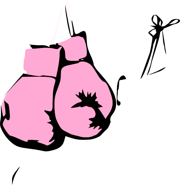 Pink boxing gloves clip art at clker vector clip art online download this image as sciox Gallery