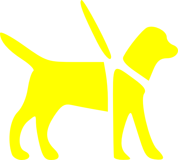 yellow dog clipart - photo #9