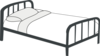 Bed Outline Clip Art