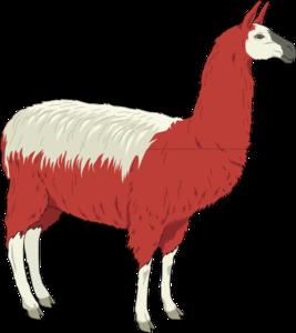 Llama 2 Clip Art at Clker.com - vector clip art online, royalty free ...