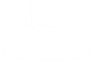 Church Sketch White Stroke Clip Art
