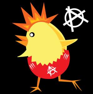 Rock Chicken Clip Art