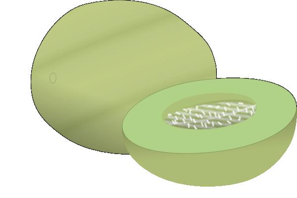 Nelon Clip Art at Clker.com - vector clip art online ... Honeydew Melon Clip Art