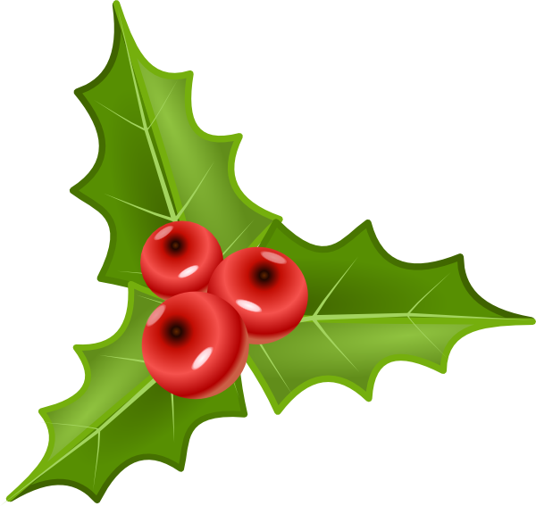 holly with berries clip art at clker com vector clip art holly berry wreath clip art holly berry leaves clip art