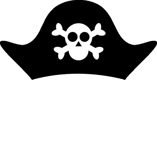 hat clip art at clker com vector clip art online royalty free rh clker com Cartoon Pirate Hat pirate hat vector art