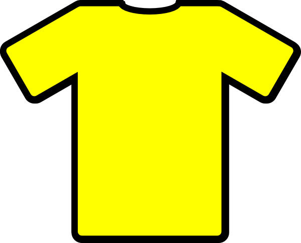 Yellow Tshirt Clip Art at Clker.com - vector clip art online, royalty ...