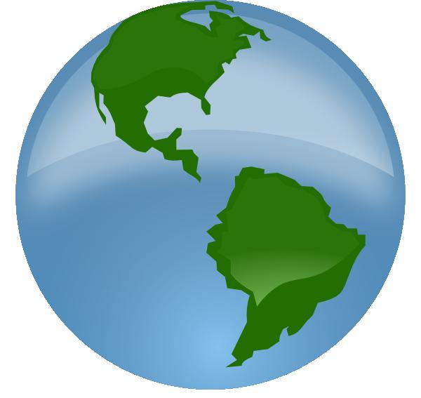 Globe Clip Art at Clker.com - vector clip art online ...