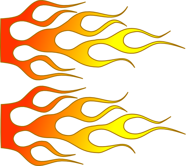 Racing Flame Clip Art at Clker.com - vector clip art online, royalty ...