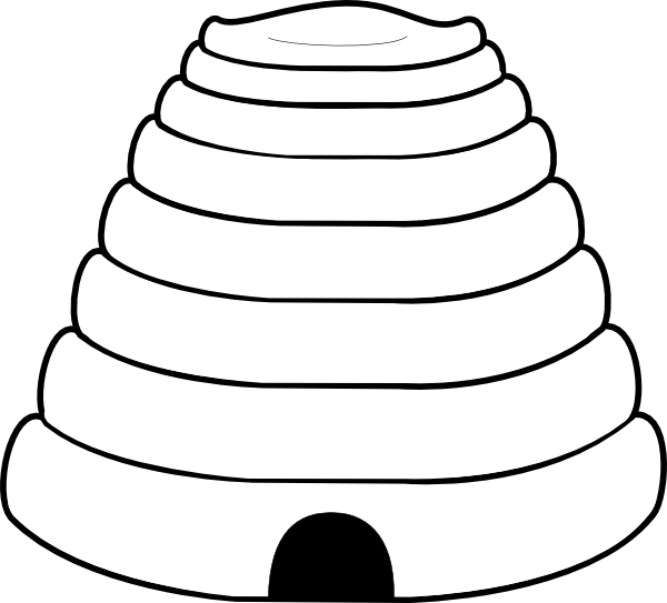 clipart beehive - photo #27
