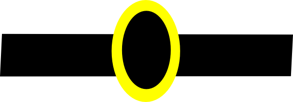 Black And Gold Belt Clip Art At Clker Com Vector Clip