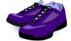 Purple Shoes Clip Art