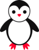 Cute Baby Penguin Clip Art