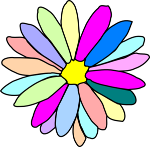 Colorful Flower Clip Art