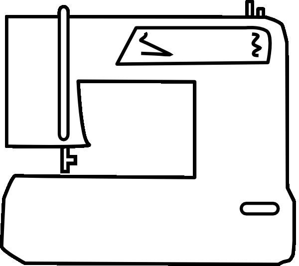 Sewing Machine Clip Art at Clker.com - vector clip art ...