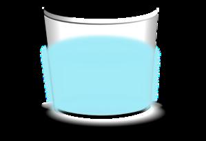 Glass Half Full Clip Art