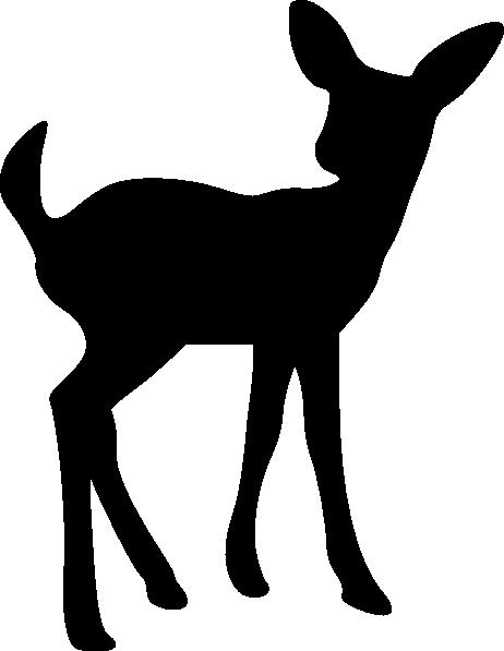 Fawn Blackout Clip Art At Clker Com Vector Clip Art