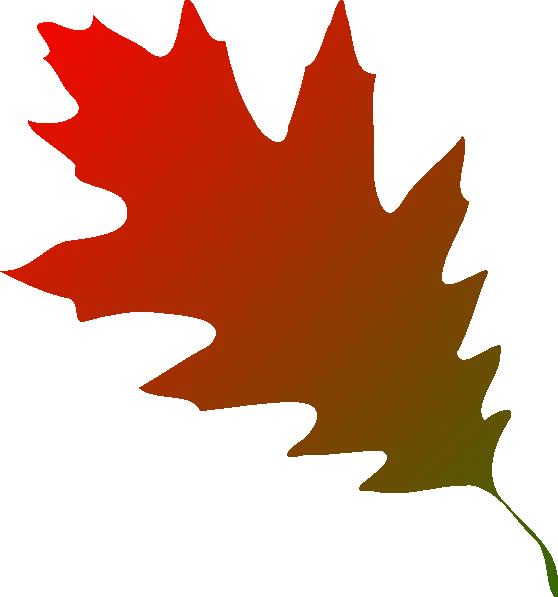 Autumn Leaf Red Green Clip Art at Clker.com - vector clip ...