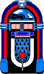 American Jukebox Clip Art