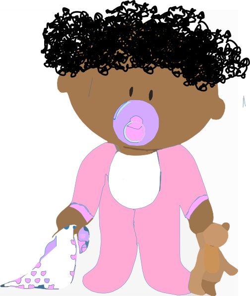 clip art curly hair girl - photo #14