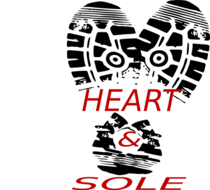 Heart Sole Shoe 4 Clip Art