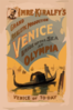 Imre Kiralfy S Grand Realistic Production, Venice, Bride Of The Sea At Olympia Clip Art