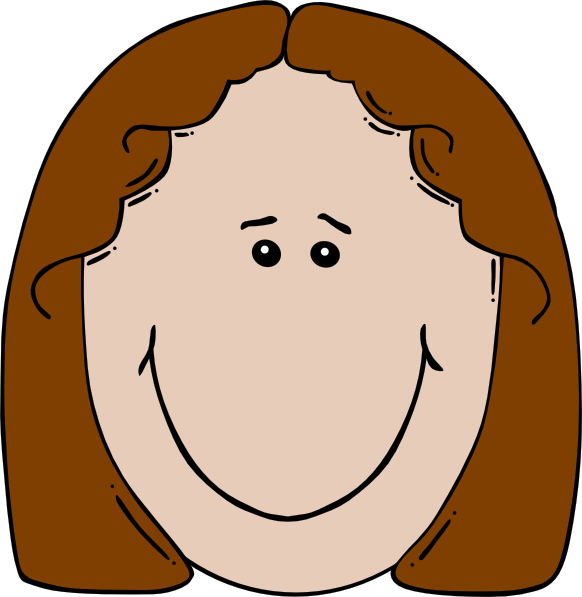 clipart little girl face - photo #15