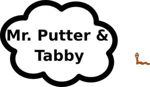 Mr Putter And Tabby Sign Clip Art