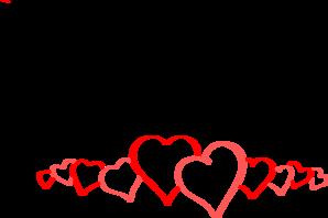 line of hearts clipart rh worldartsme com clip art line drawings clip art line art