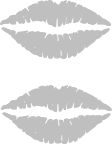 Outlineoflips  Clip Art