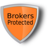 Brokers Protected  Clip Art